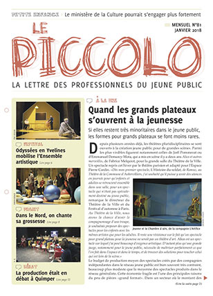 Couverture magazine Le Piccolo